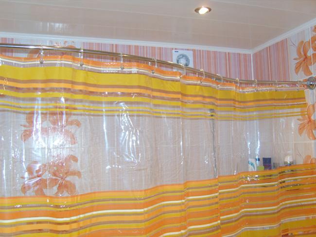 обруч для шторы в ванную