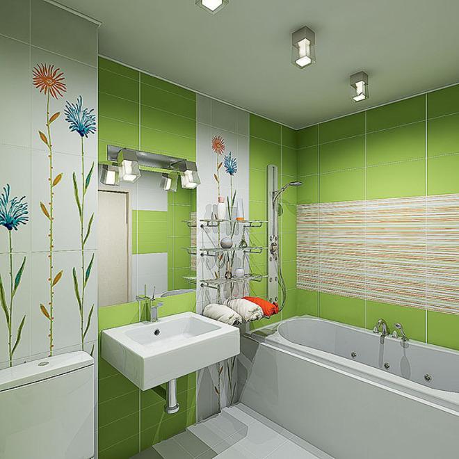 Самостоятельно дизайн ванной комнаты купить смеситель встраиваемый в стену для гигиенического душа