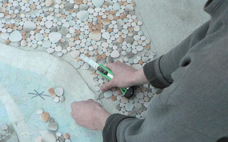 Затирка швов плитки на полу своими руками