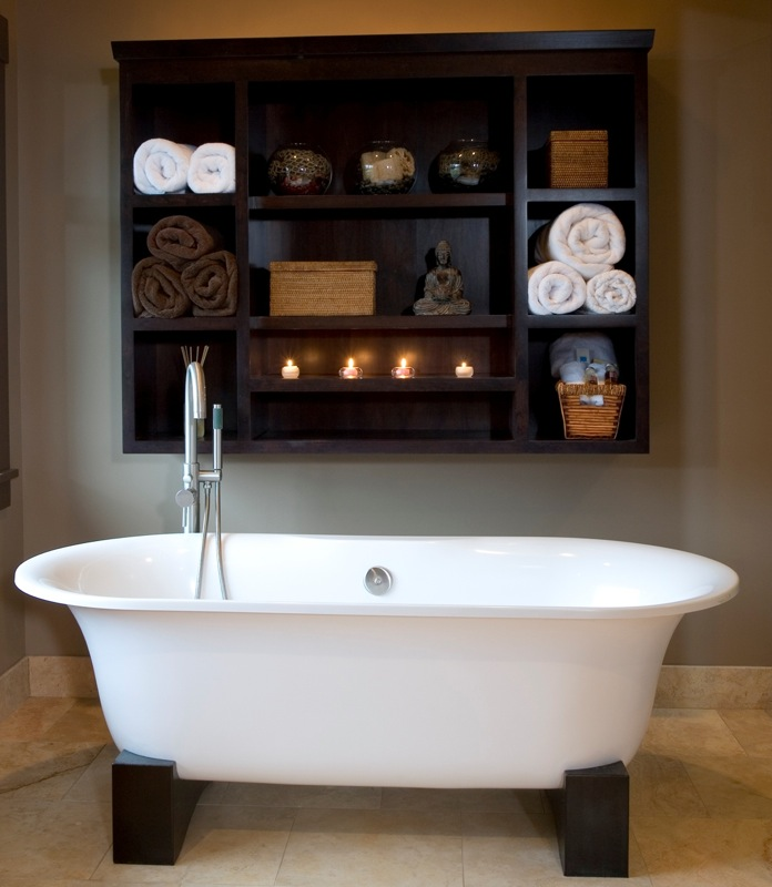 Ванная комната полочки своими руками фото