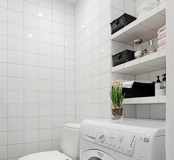 Как своими руками сделать полки для ванной комнаты