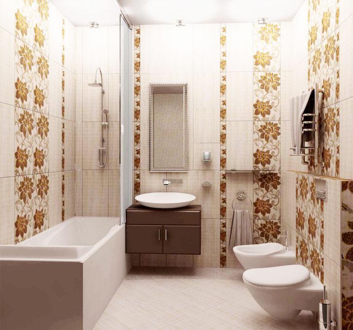 Možnosti postavitve ploščic v majhni kopalnici
