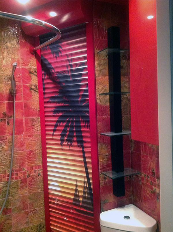 Рольставни на окна в Москве, металлические оконные жалюзи