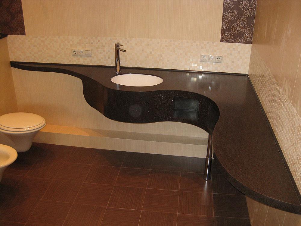 Угловая столешница для ванной комнаты фото астрахань подоконники из искусственного камня