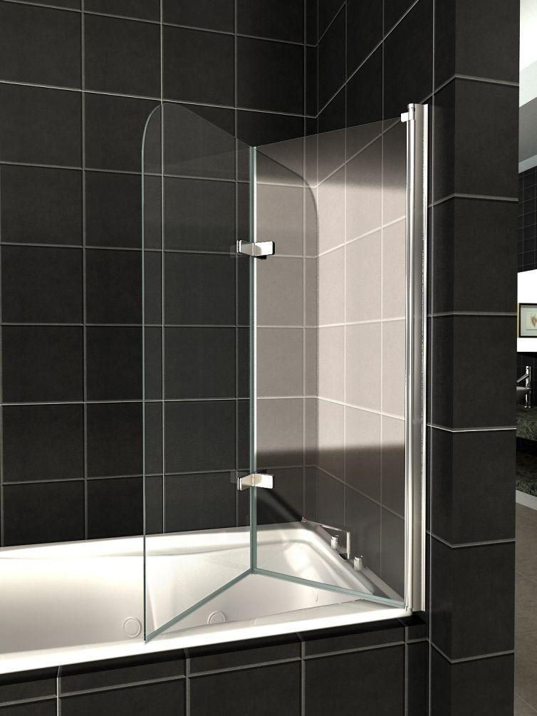 Стеклянная шторка для ванной своими руками 646