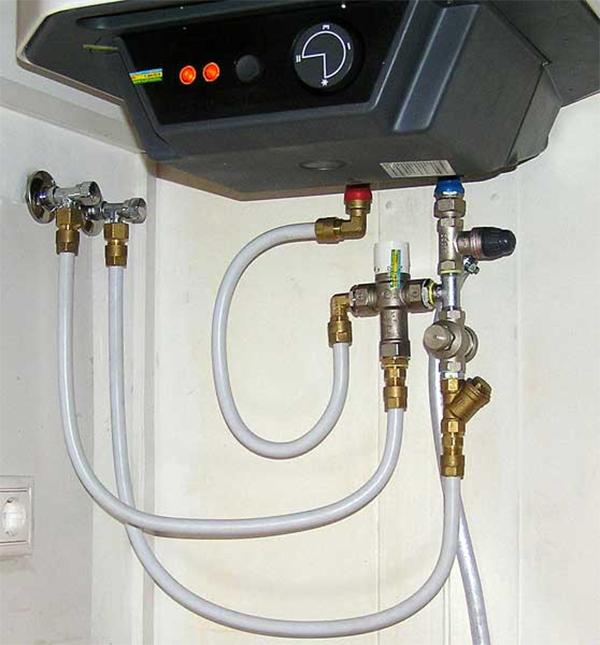 Монтаж водонагревателя своими руками фото