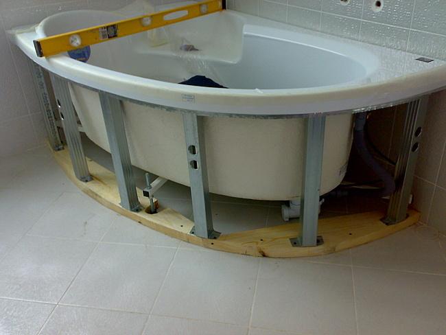 Угловая ванна своими руками фото 557