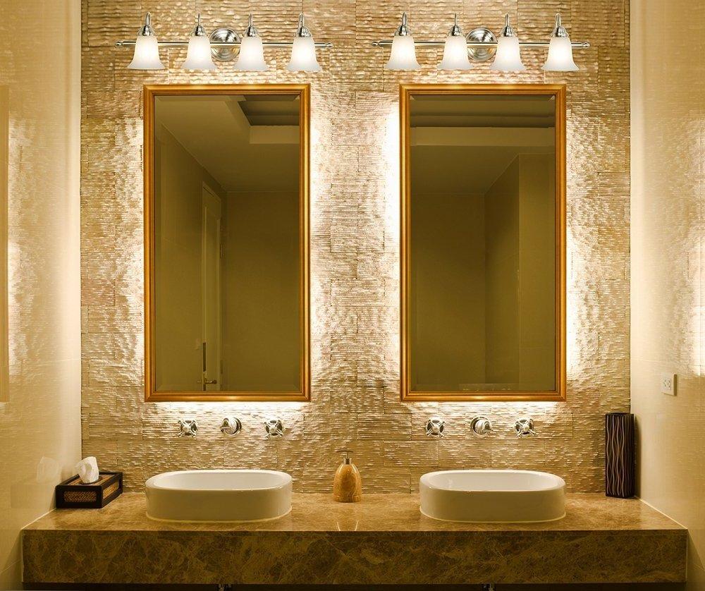 Зеркало в ванной фото