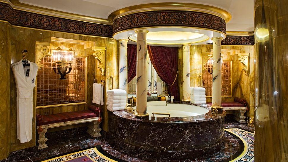 Шикарные ванные комнаты