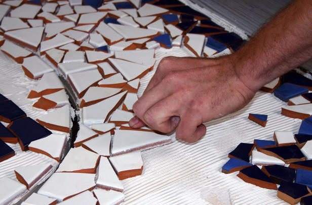 Мозаика своими руками из керамики