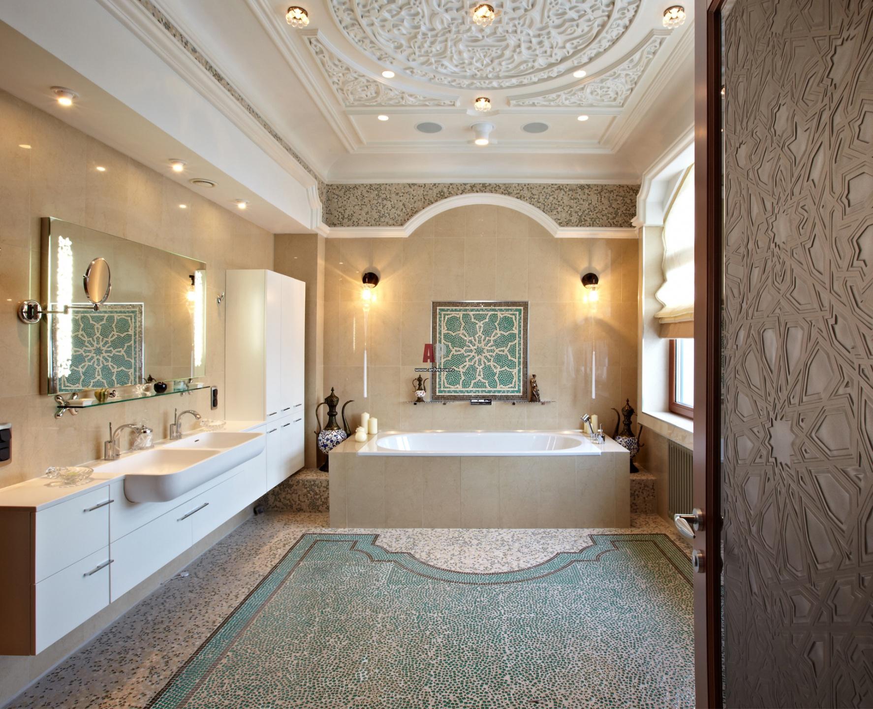 Ванна в восточном стиле фото