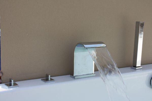Купить красивый смеситель в ванну баночки для ванной комнаты