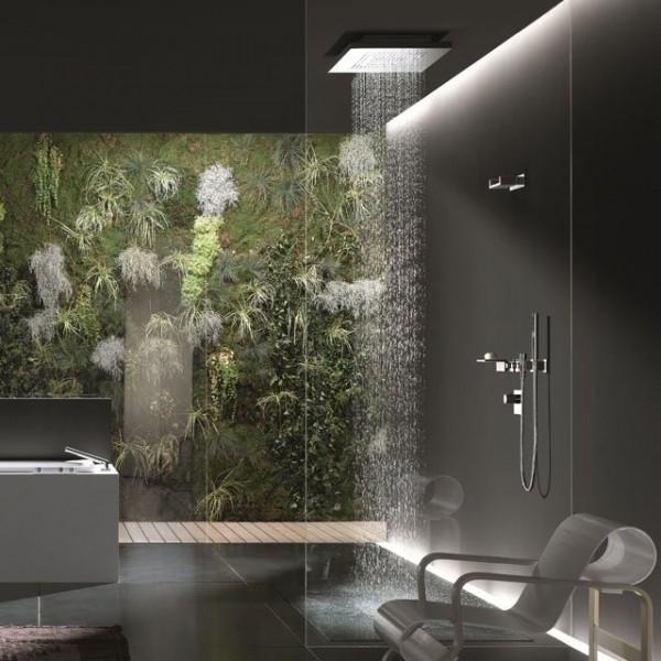 Как сделать тропический душ в ванной 36
