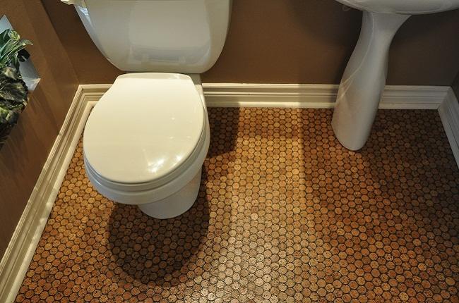 Как сделать мозаику на полу