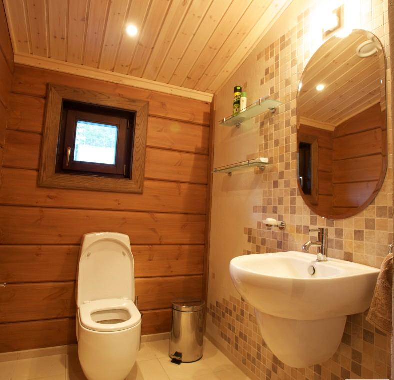 Фото ванной комнаты в частном доме своими руками
