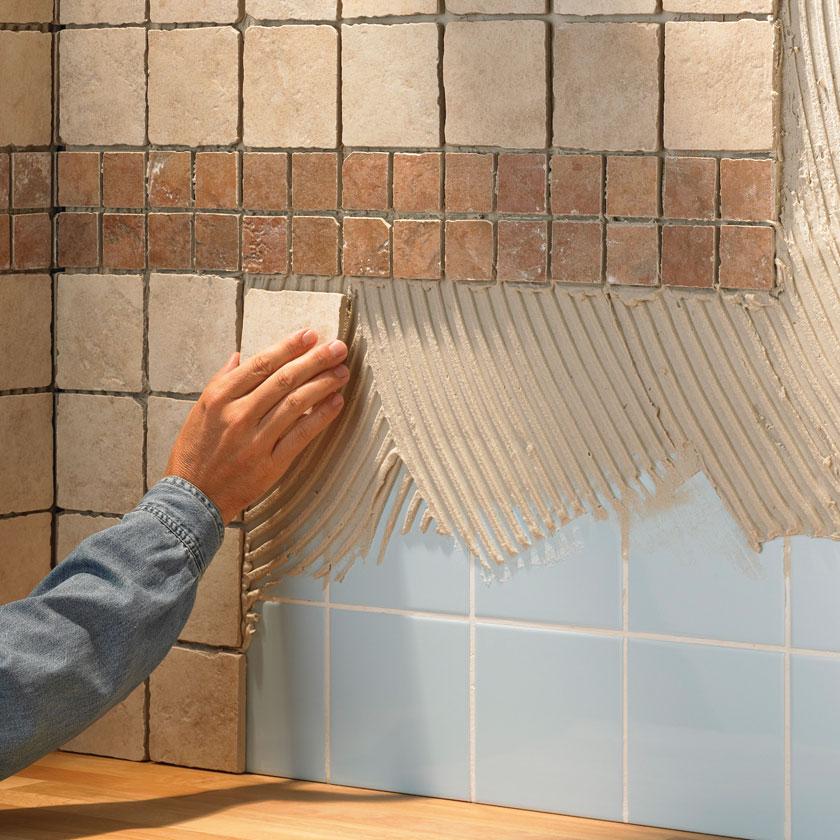 Как украсить своими руками плитку на кухне 291