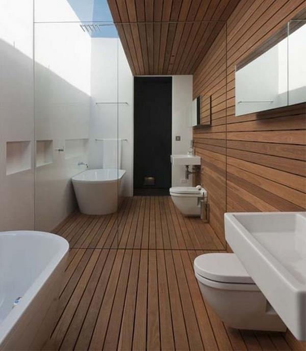 фото отделка ванной вагонкой