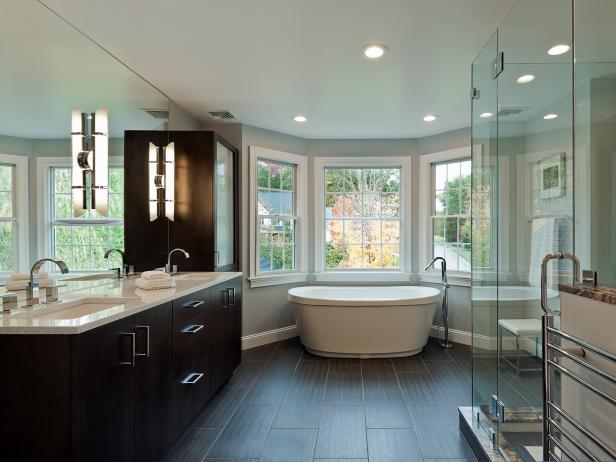 Dimensioni Minime Bagno Disabili Normativa : HGTV Bathrooms Design ...