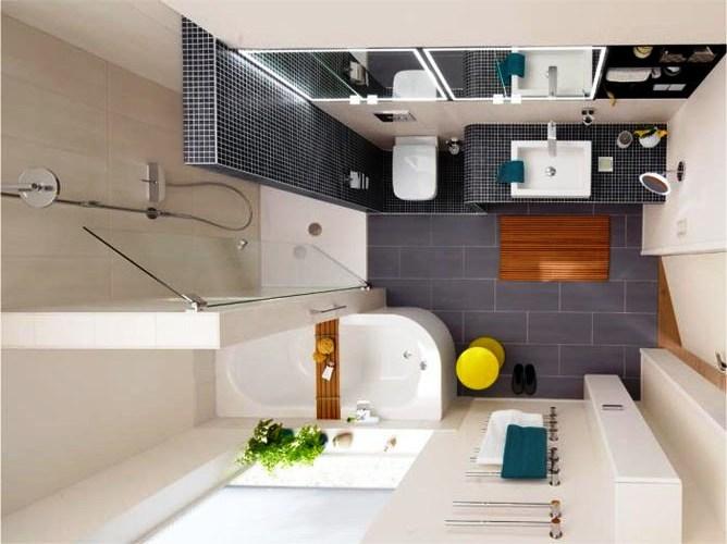 Дизайн ванной комнаты 2.5 квадратных метров