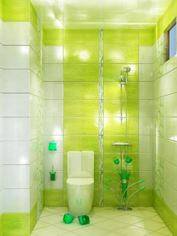 Бело салатовая ванная комната Сифон д/рак. 11/4 oro