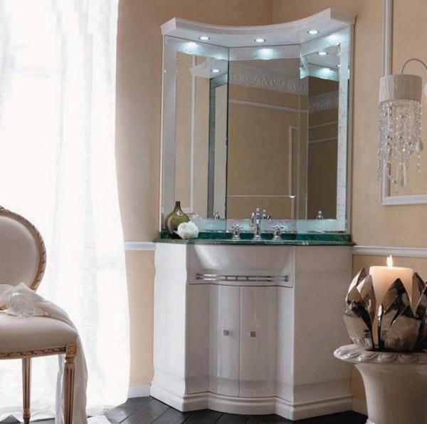 столики для ванной комнаты виды стили для раковины с зеркалом