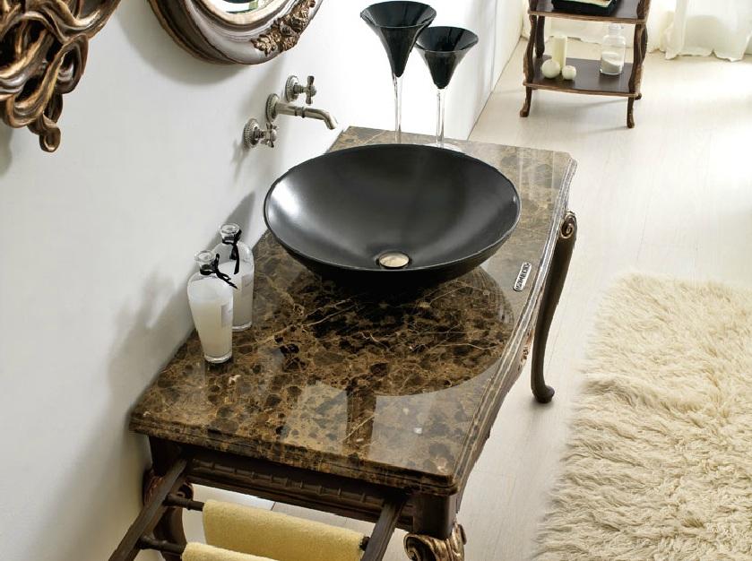 Столик для ванной комнаты ванная комната плитка полосами