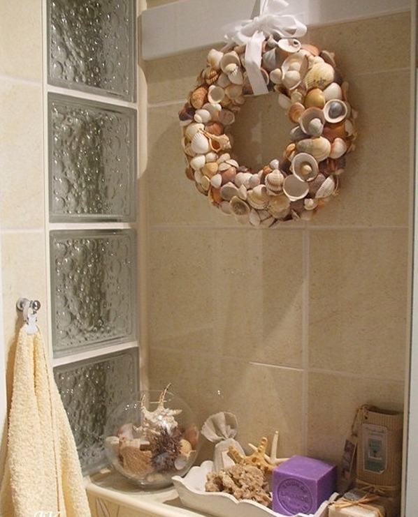 Как украсить ванную своими руками