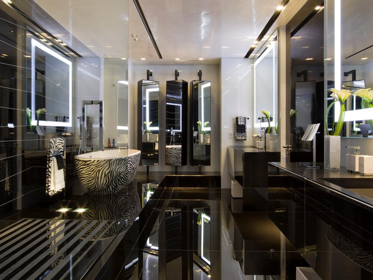 Дизайн ванной комнаты тенденции