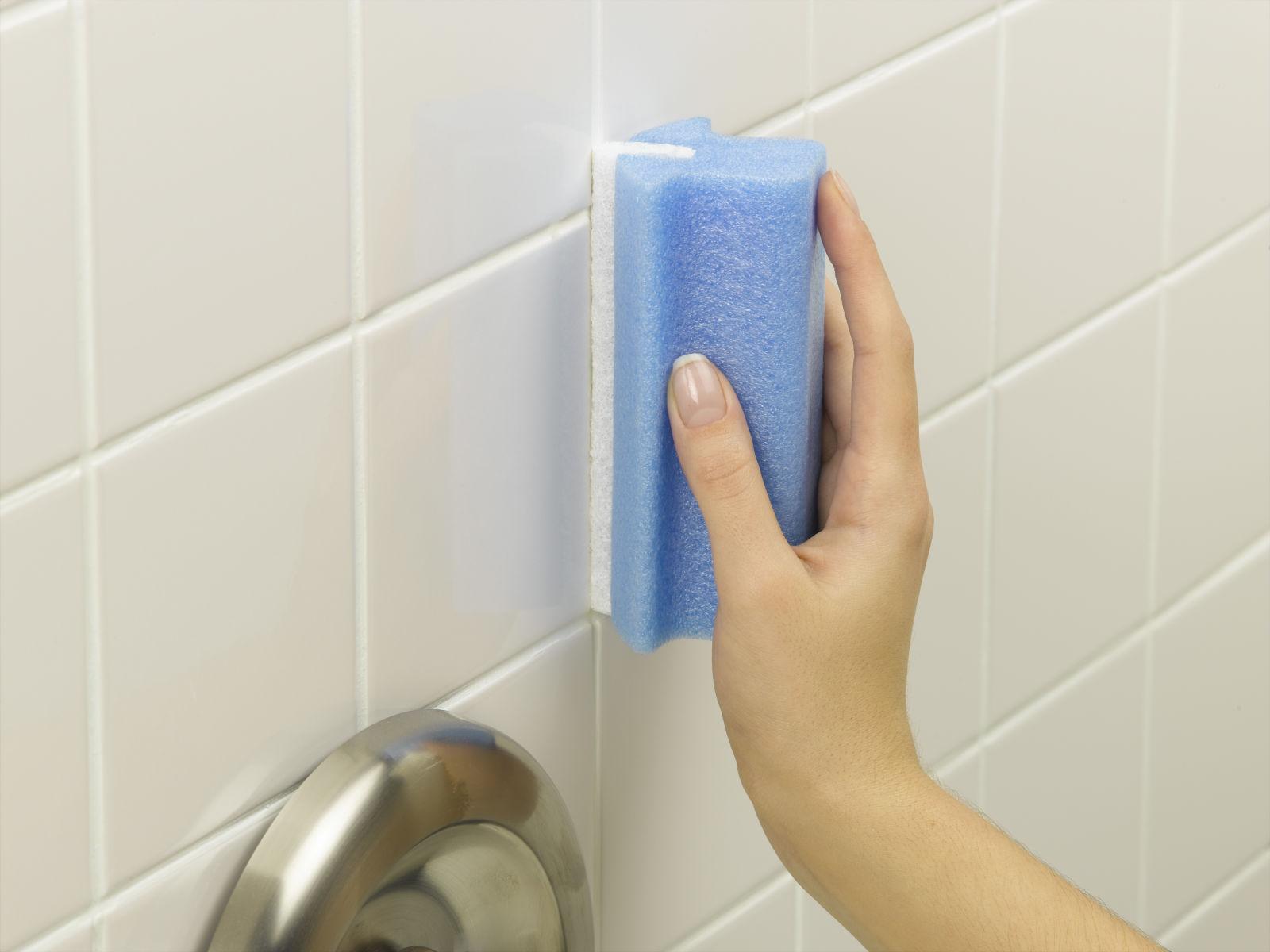 чем почистить плитку в ванной комнате