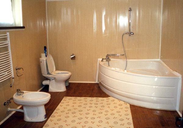 Бюджетный и экономный ремонт ванной комнаты: разные варианты 70