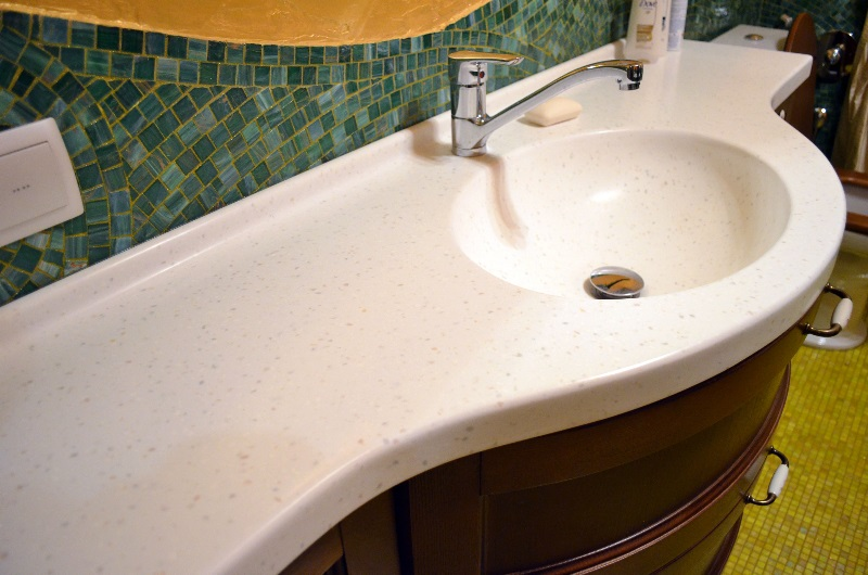 Мойка для ванной из искусственного камня купить