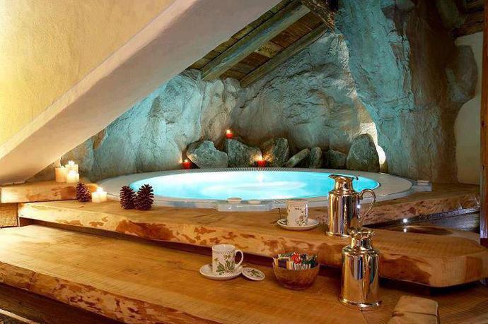 Интересный дизайн ванных комнат фото