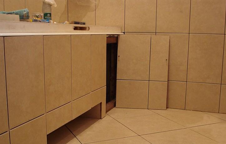 Как сделать под ванну дверцы