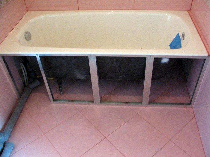 Как сделать ванну своими руками из пластиковых панелей