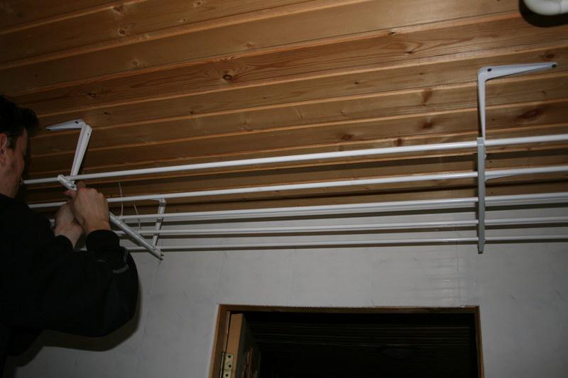 Сушилка белья балконе своими руками