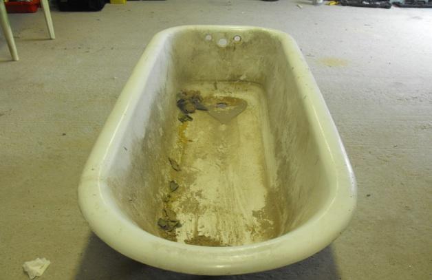 Покрытие чугунной ванны эмалью своими руками 74