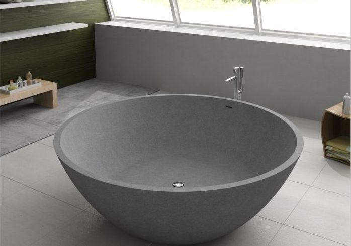 Круглая ванна: 7 невероятных стилей оформления m