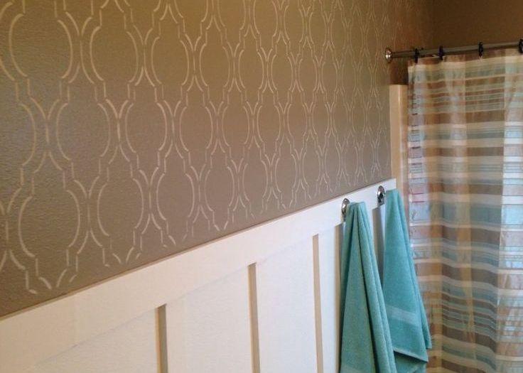 Роспись ванной комнаты своими руками