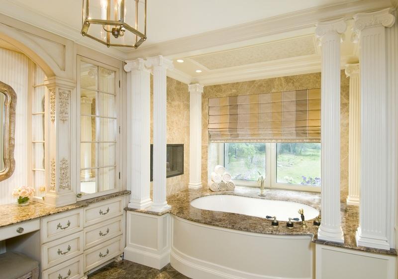 Ванная комната в стиле барокко особенности дизайна и