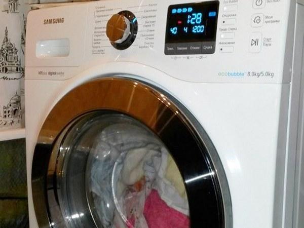 Попала в стиральную машину