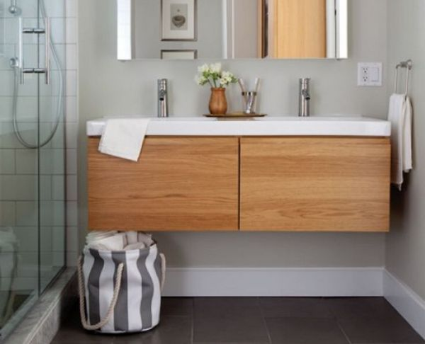 раковина в ванную с тумбой фото