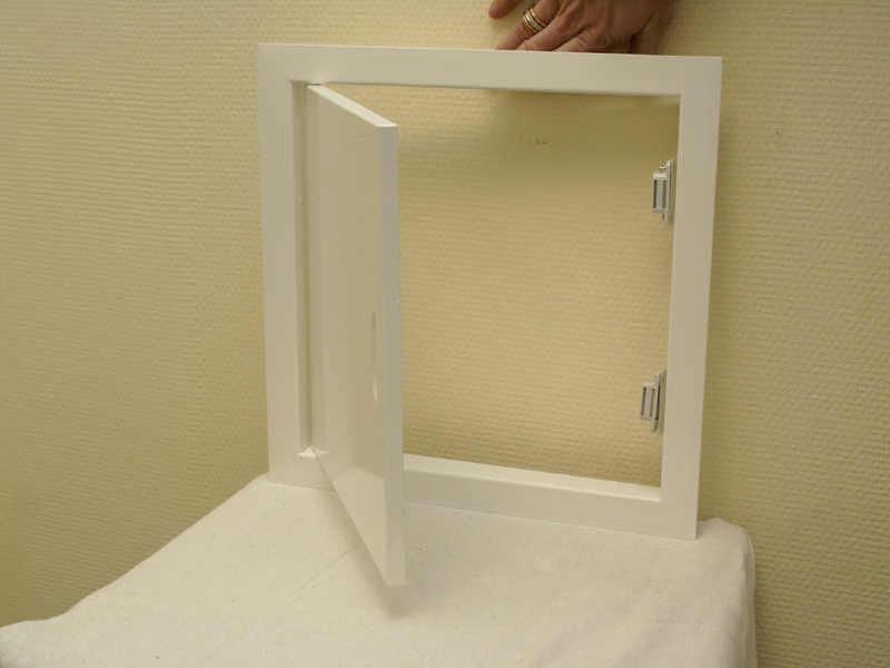 Из чего сделать ревизионный люк невидимка в ванной комнате своими руками