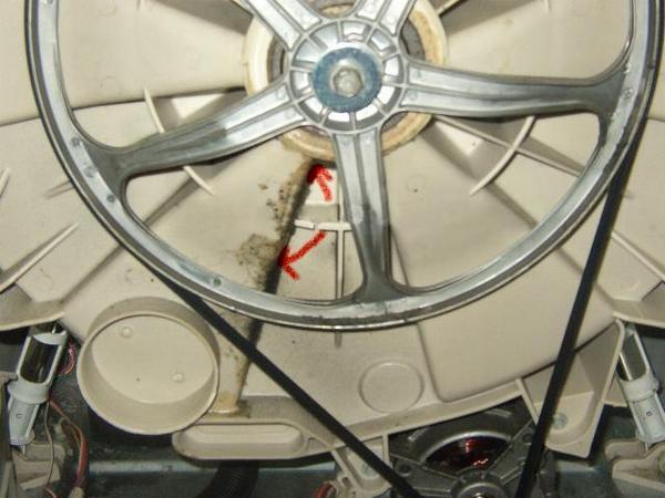 Замена подшипника в стиральной машине beko