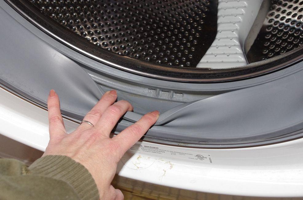 Алгоритм замены резинки на стиральной машине