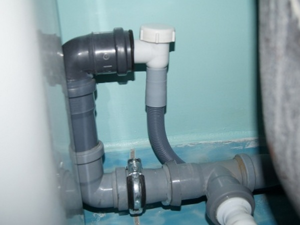 Обратный клапан для стиральной машины на слив