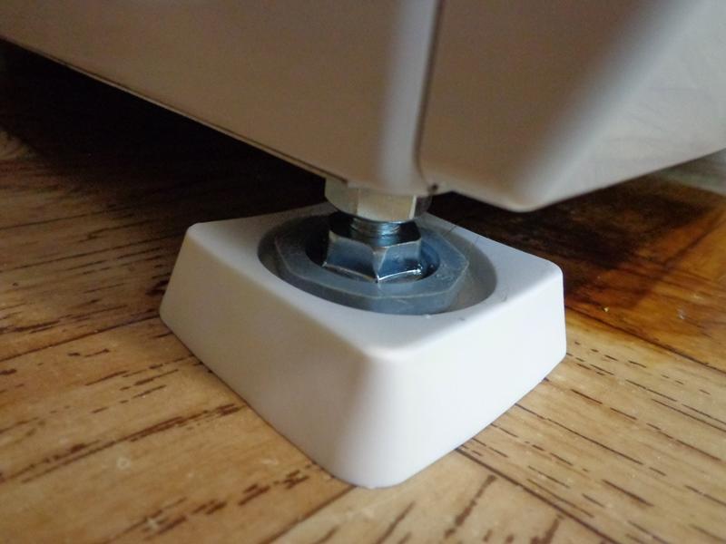 Ножка для стиральной машины своими руками