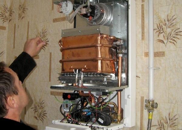 Сколько стоит поменять теплообменник в газовой колонке Кожухотрубный конденсатор WTK CF 50 Биробиджан