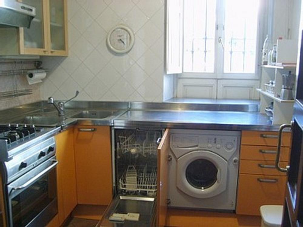 кухне машину на установил фото стиральную