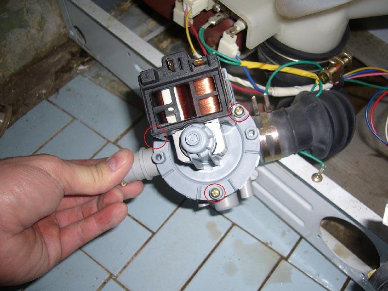 Как заменить помпу на стиральной машине атлант