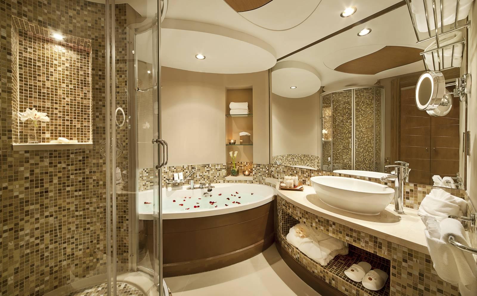 Ванная комната дизайн с мозаикой